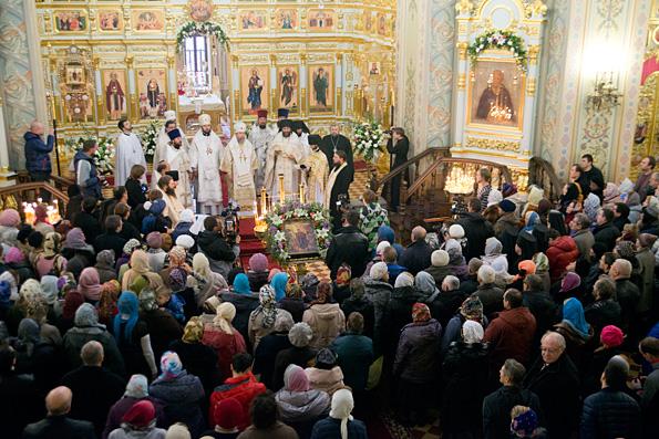 В Свияжске освящен собор иконы Божией Матери «Всех скорбящих радосте»