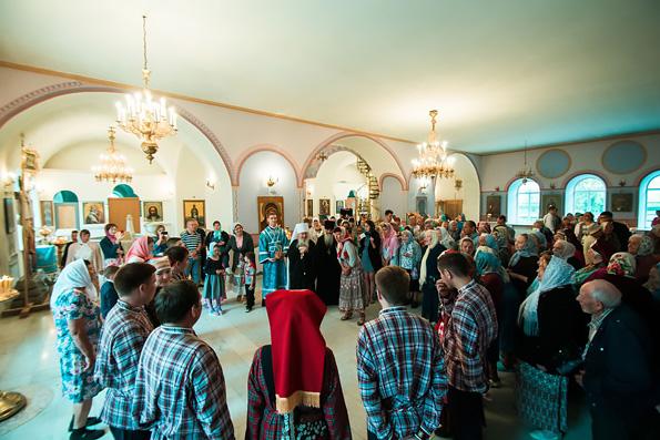 В кряшенском приходе Казани отметили праздник Тихвинской иконы Пресвятой Богородицы
