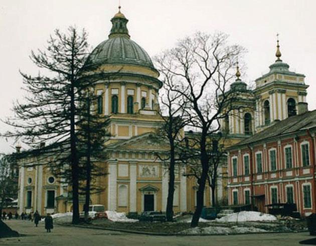 Александро-Невская Лавра. Современный вид.