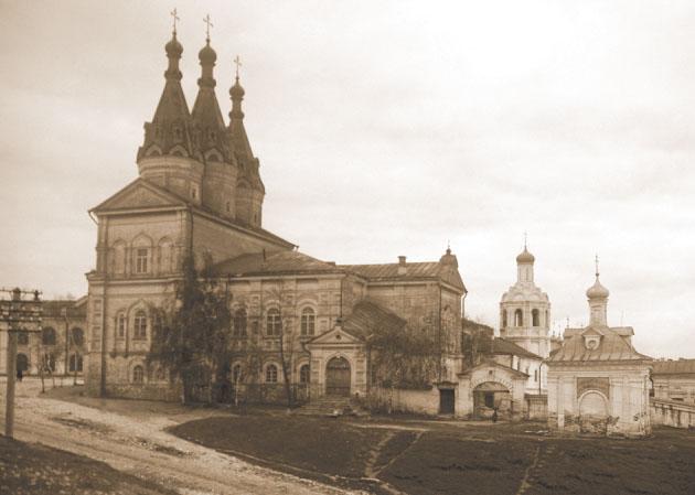 Иоанно-Предтеченский монастырь. Фото 1930 г.