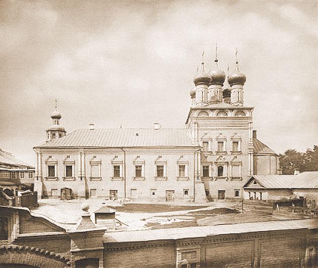 Высокопетровский монастырь. Фото конца XIX столетия.