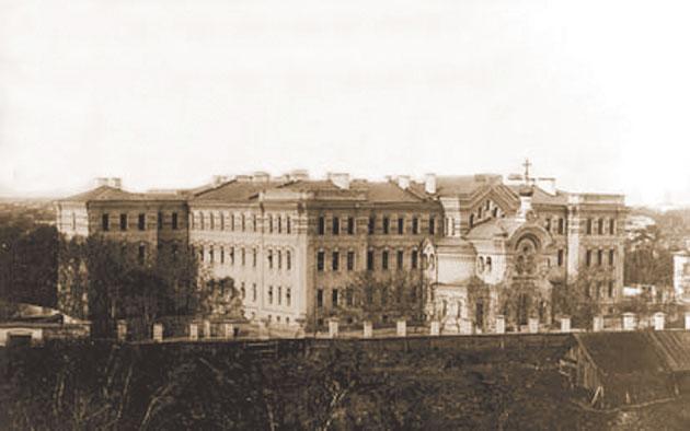 Тверская духовная семинария. Фото конца XIX столетия.