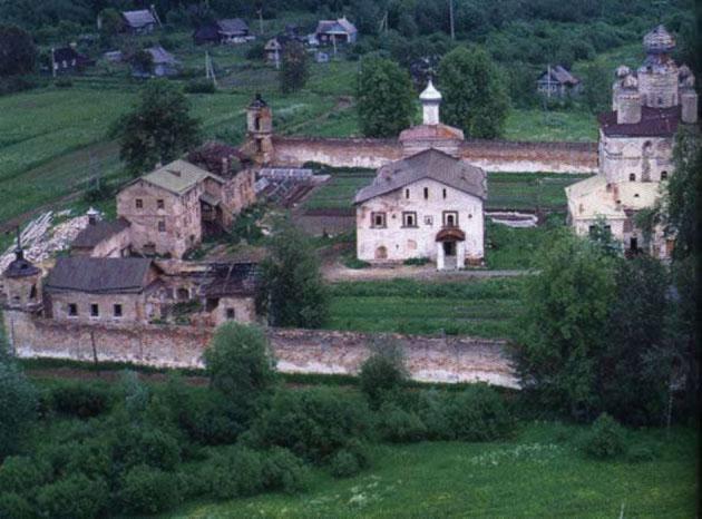 Троицкий Зеленецкий монастырь.Современный вид.