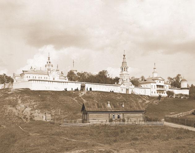 Зилантов монастырь. Фото 1915 г.