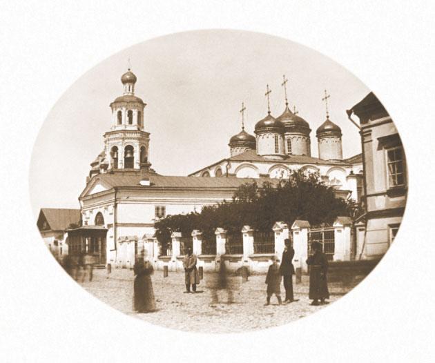 Николо-Низская и Покровская церкви. Фото 1878 г.