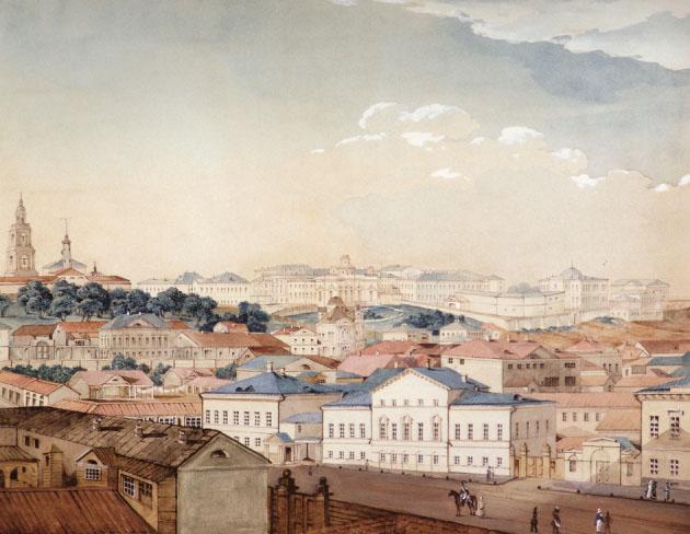 Вид на Казань. 1842 г.