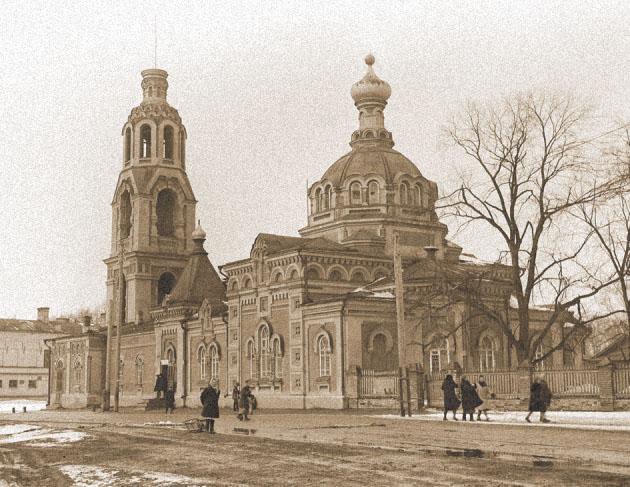 Варваринская церковь. Фото 1930 г.