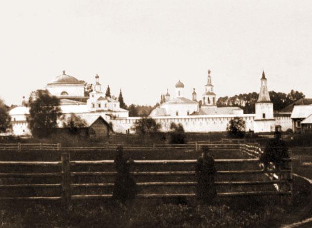 Раифская Богородицкая пустынь. Фото 1915 г.