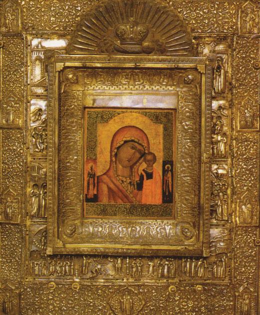 Казанский образ Пресвятой Богородицы