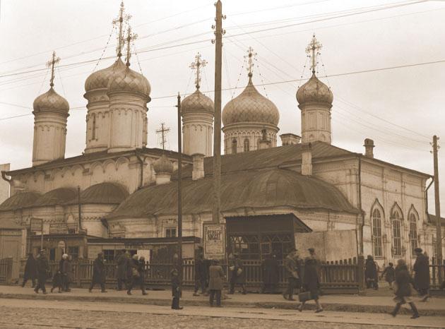 Богоявленская церковь. 1930 г.