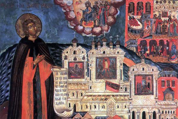 Преподобный князь Андрей, в иночестве Иоасаф, Спасокубенский (1453 г.)