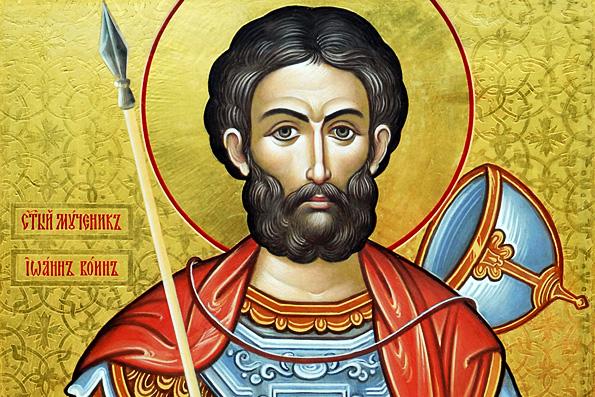 Мученик Иоанн Воин (4 век)