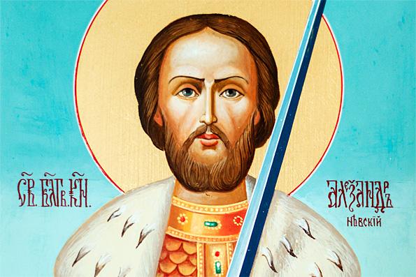 Благоверный великий князь Александр Невский — в схиме Алексий (1263 г.)
