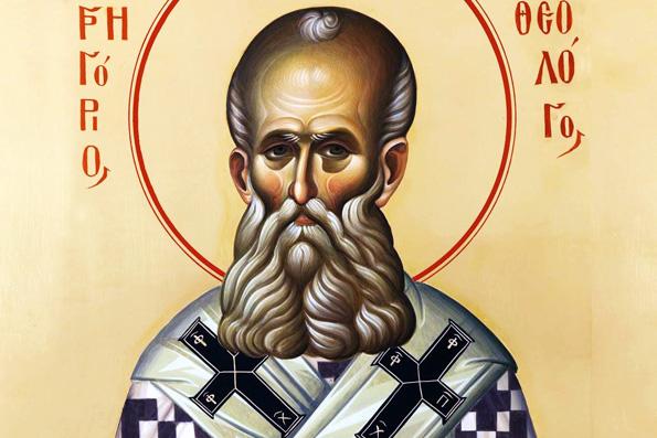 Святитель Григорий Богослов, архиепископ Константинопольский (389 г.)