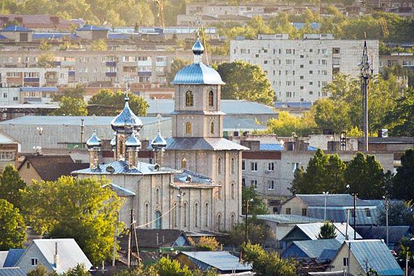 Троицкий храм, город Лениногорск