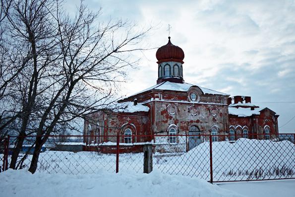 Храм святителя Тихона Амафунтского, село Тихоново