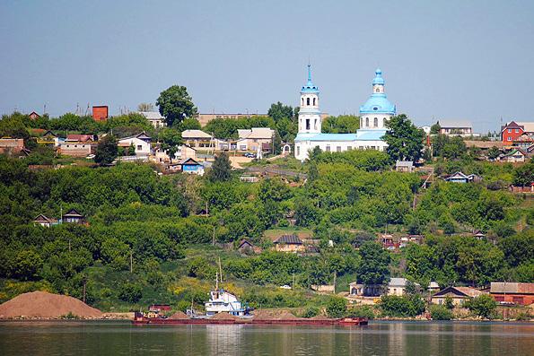 Храм Богоявления Господня в Тихих Горах, город Менделеевск