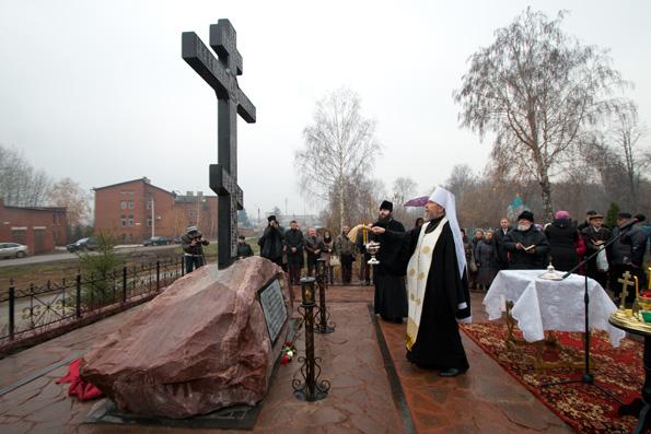 В Чистополе освящен мемориальный комплекс в честь новомучеников и исповедников за веру пострадавших