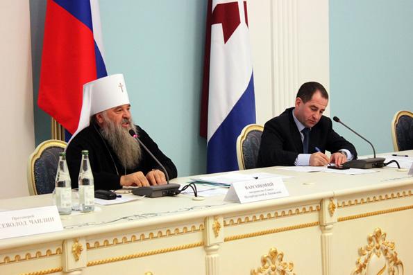 Доклад управляющего делами Московской Патриархии на встрече правящих архиереев Приволжского федерального округа