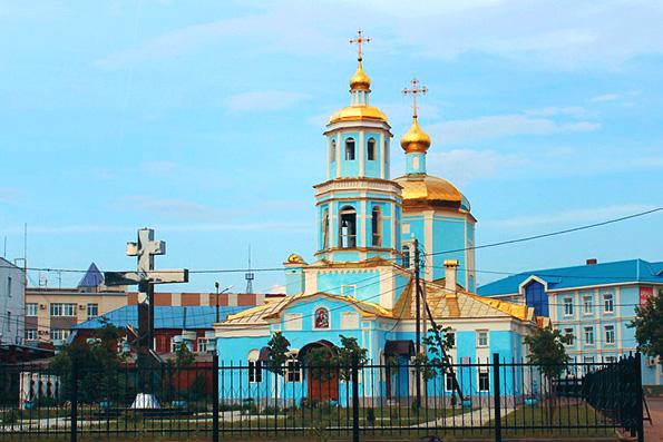 Храм в честь Тихвинской иконы Божией Матери, г. Казань