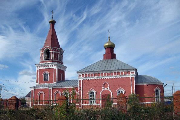 Храм благоверных князей Бориса и Глеба, село Борисоглебское