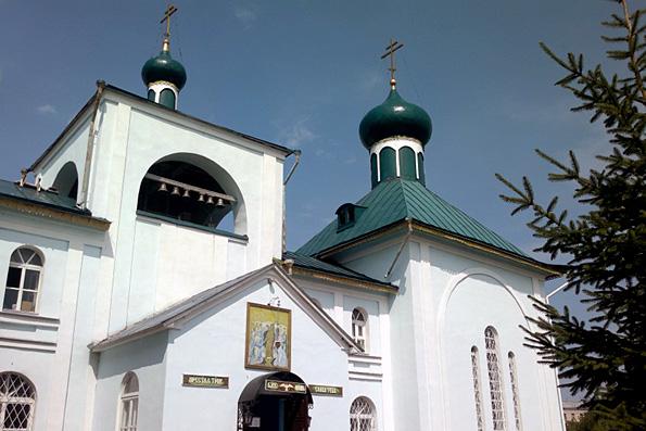Храм Иоанна Кронштадтского при Казанской духовной семинарии