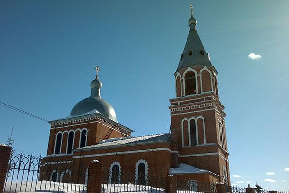 Храм Рождества Пресвятой Богородицы, с. Высокая Гора