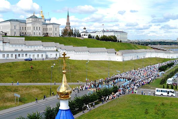 В Казани отметили 435-летие со дня явления иконы Божией Матери