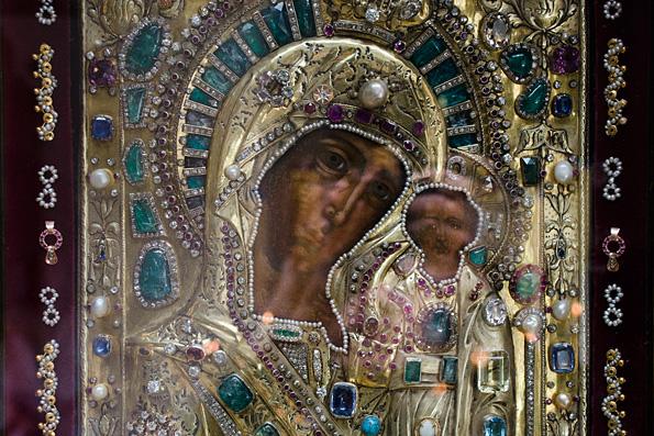 Новоказанская. Ватиканский список Казанской иконы Божией Матери
