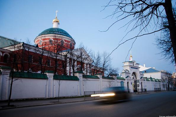 Казанско-Богородицкий монастырь, Казань