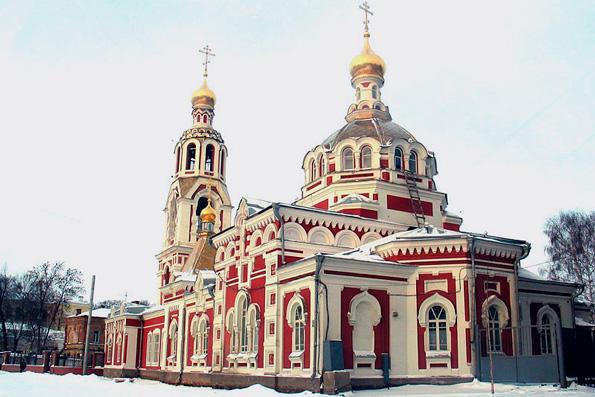 Храм в честь великомученицы Варвары, г. Казань