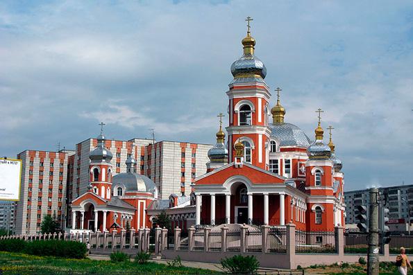 Приход преподобного Серафима Саровского, город Казань