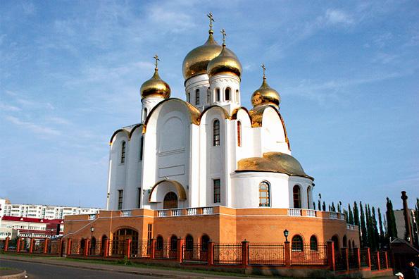 Кафедральный собор Казанской иконы Божией Матери, город Альметьевск