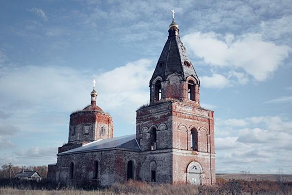 Храм в честь Благовещения Пресвятой Богородицы, село Русские Казыли