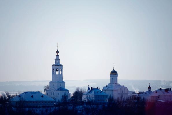 Успенский Зилантов женский монастырь, город Казань