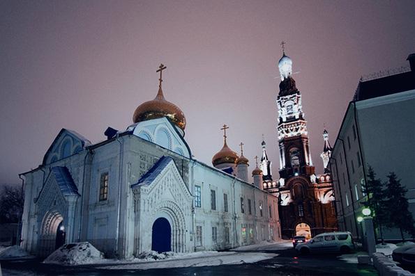 Богоявленский собор, город Казань