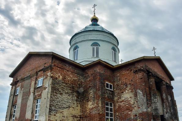 В селе Пановка восстанавливают храм святителя Николая Чудотворца