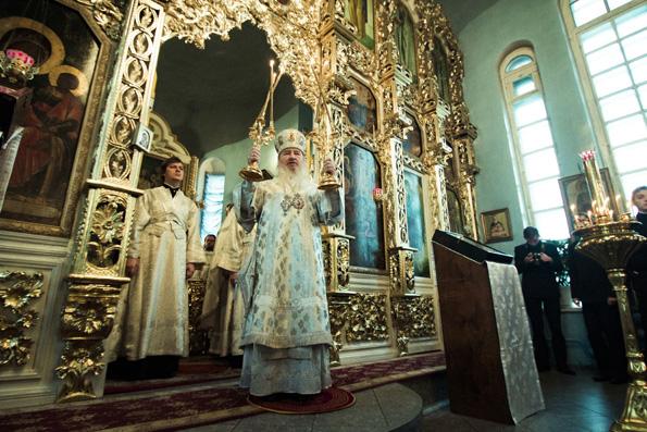 Слово митрополита Феофана после Литургии в Актовый день Казанской духовной семинарии