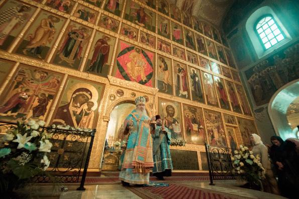 Слово митрополита Феофана в праздник Казанской иконы Божией Матери в Благовещенском соборе