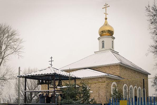 Церковь Димитрия Солунского, село Калейкино