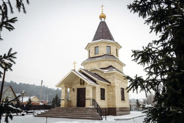 Церковь святителя Николая Чудотворца, село Новоникольск