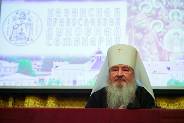 Актовый день в Казанской духовной семинарии возглавил владыка ректор