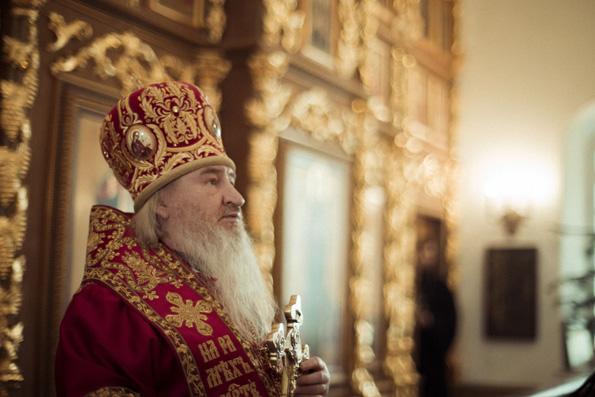 Проповедь митрополита Феофана в день памяти великомученицы Варвары в Варваринской церкви города Казани