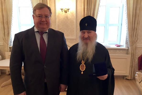 Митрополит Феофан и Сергей Степашин