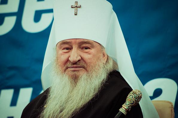 Выступление главы Татарстанской митрополии в КФУ на круглом столе, посвященном духовному состоянию молодежи