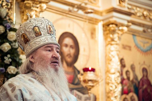 Проповедь митрополита Феофана в храме в честь Сошествия Святого Духа города Казани