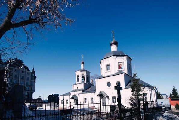 Храм в честь Нерукотворенного Образа Спасителя (Евдокиевская церковь), город Казань