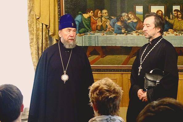 Беседа митрополита Анастасия с молодежью