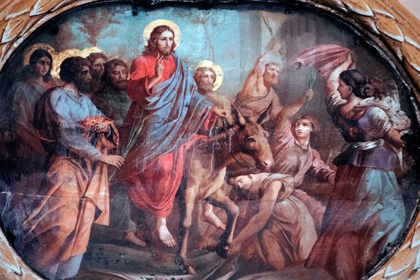 На пути в Вифанию и Иерусалим