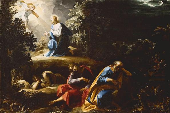 Приближается встреча Христа со смертью
